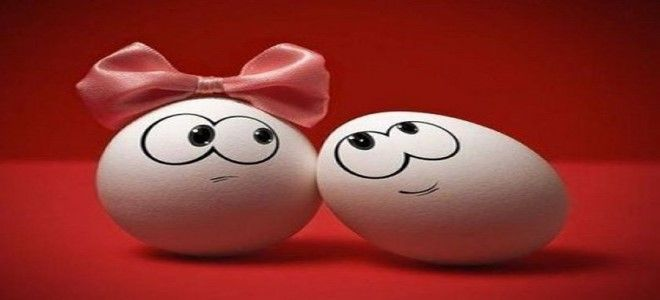 البيض في المنام للعزباء