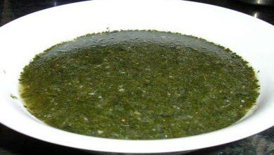 Photo of طريقة عمل الملوخية الخضراء للشيف الشربينى بالطشة