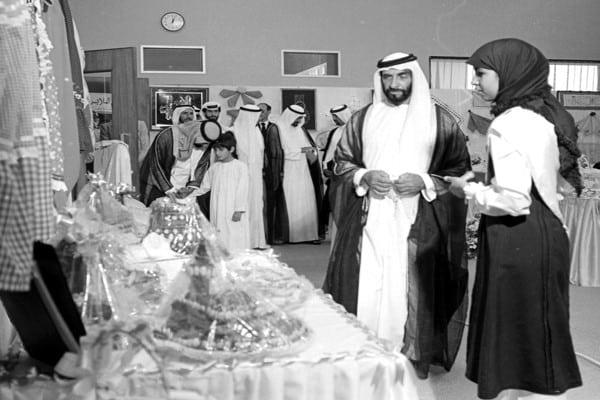 اعمال الشيخ زايد بن سلطان آل نهيان