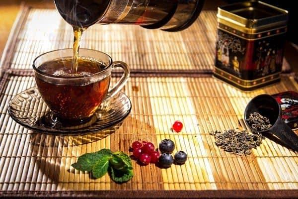 الشاي الاخضر والرضاعه