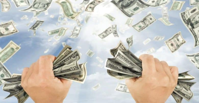 رؤية المال في المنام
