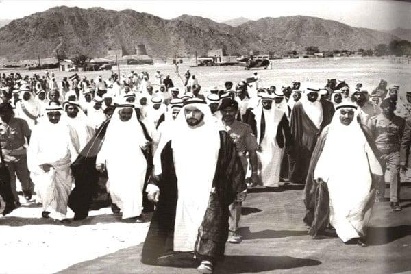 سيرة عيرية الشيخ زايد آل نهيان