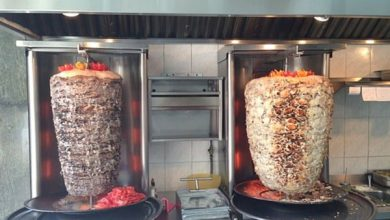 طريقة شاورما الدجاج اللبناني الشيف انطوان الحاج
