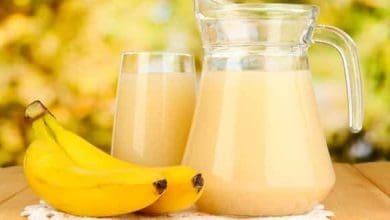 طريقة عمل عصير الموز بالحليب