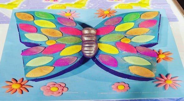 طريقة عمل كيك الفراشة سالي فؤاد