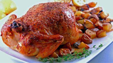 طريقة عمل الدجاج المحمر في الفرن