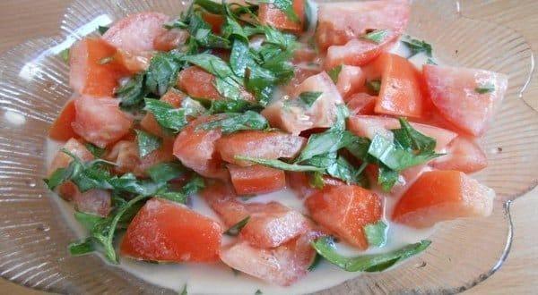 طريقة عمل سلطة الطحينة بالطماطم