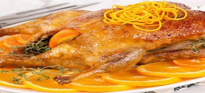 طريقة عمل البط بالبرتقال والعسل في الفرن نجلاء الشرشابي