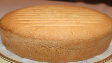 طريقة عمل الكيكة الاسفنجية للشيف الشربيني