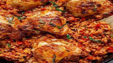 اكلات دجاج بالارز سريعة التحضير