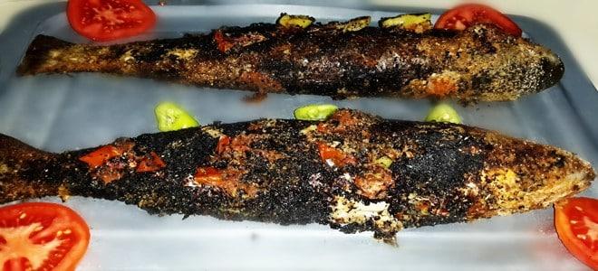 طريقة عمل السمك البوري المشوي للشيف علاء الشربيني