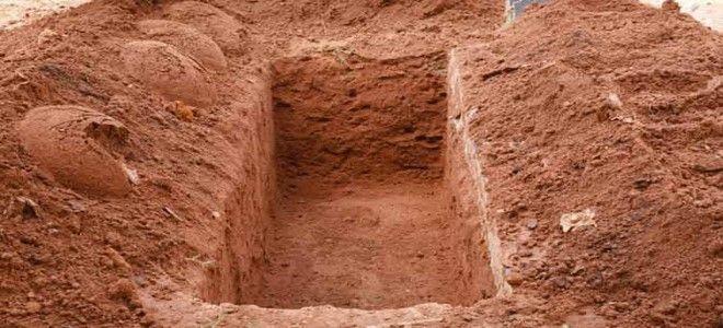 القبر في المنام للعزباء