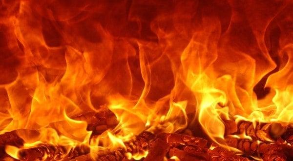 رؤية النار في المنام