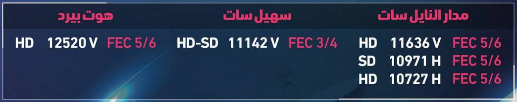 ترددات قناة العربي 2019