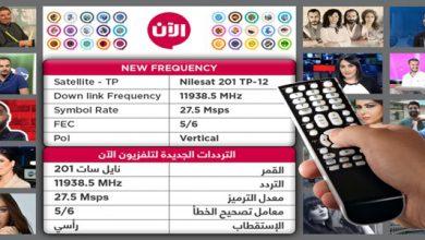 Photo of تردد قناة الآن الجديد 2020 على النايل سات