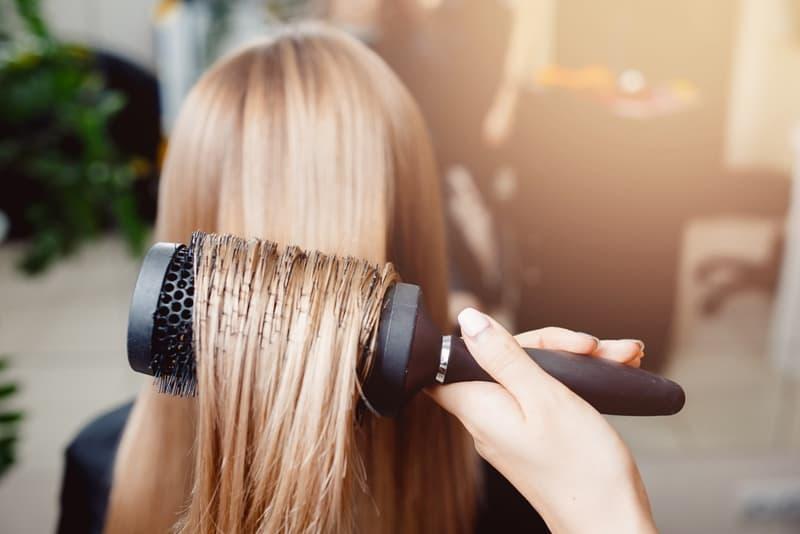 أضرار بروتين الشعر
