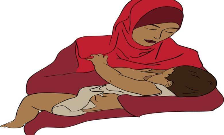 تفسير حلم الرضاعة في المنام للحامل للمتزوجة للعزباء لابن سيرين